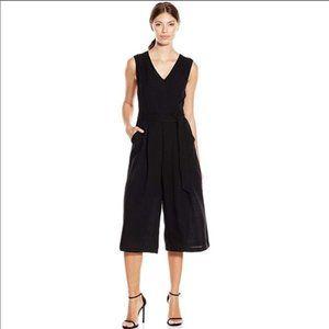 Anthropologie Greylin Nyla Black jumpsuit size S